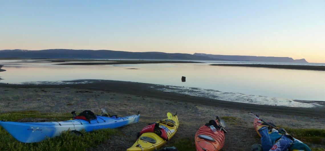 Kajak Reise auf Island