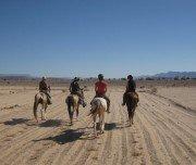 Wanderritt quer durch die Wüste