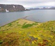 Kajak fahren im Fjord