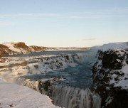 Winterritt in Island - Gullfoss