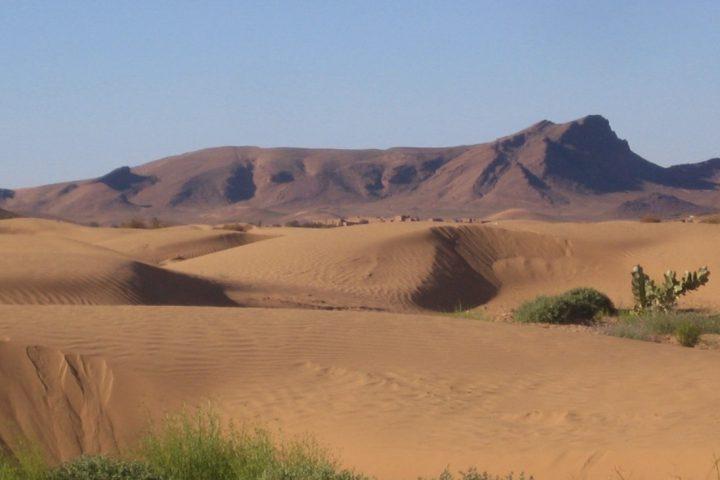 Sanddünen Erg Chebbi in Marokko