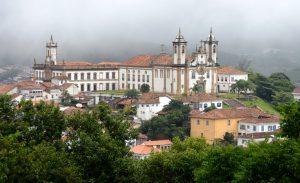 Barocke Gebäude in Ouro Preto