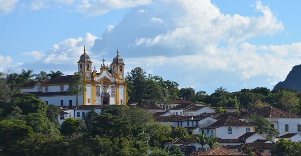 Kirche in Tiradentes