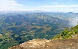 Aussicht vom Pico do Papagaio