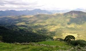 Aussicht auf das Tal do Matutu