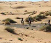Reiten durch die Sanddünen der Erg Chebbi