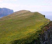 Wanderung über Klippe Island