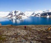 Fjordwanderung Island