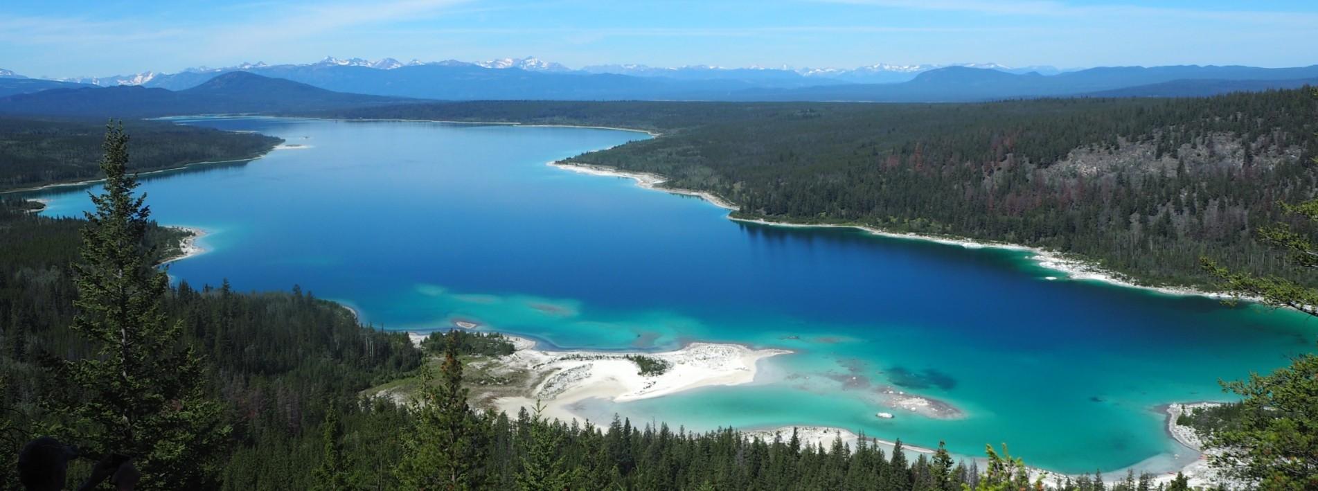 Atemberaubende Landschaft, Westkanada