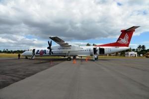 LAM Flugzeug, Flughafen Inhambane