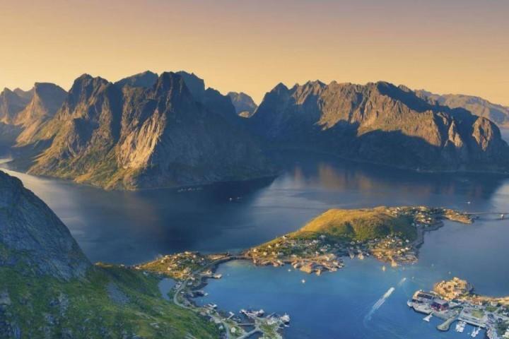 Lofoten in Norwegen