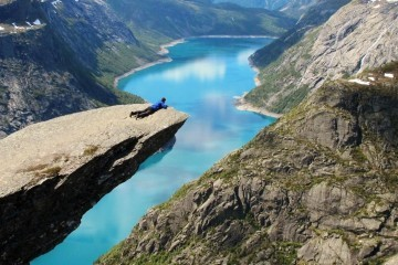 Trolltunga in Norwegen