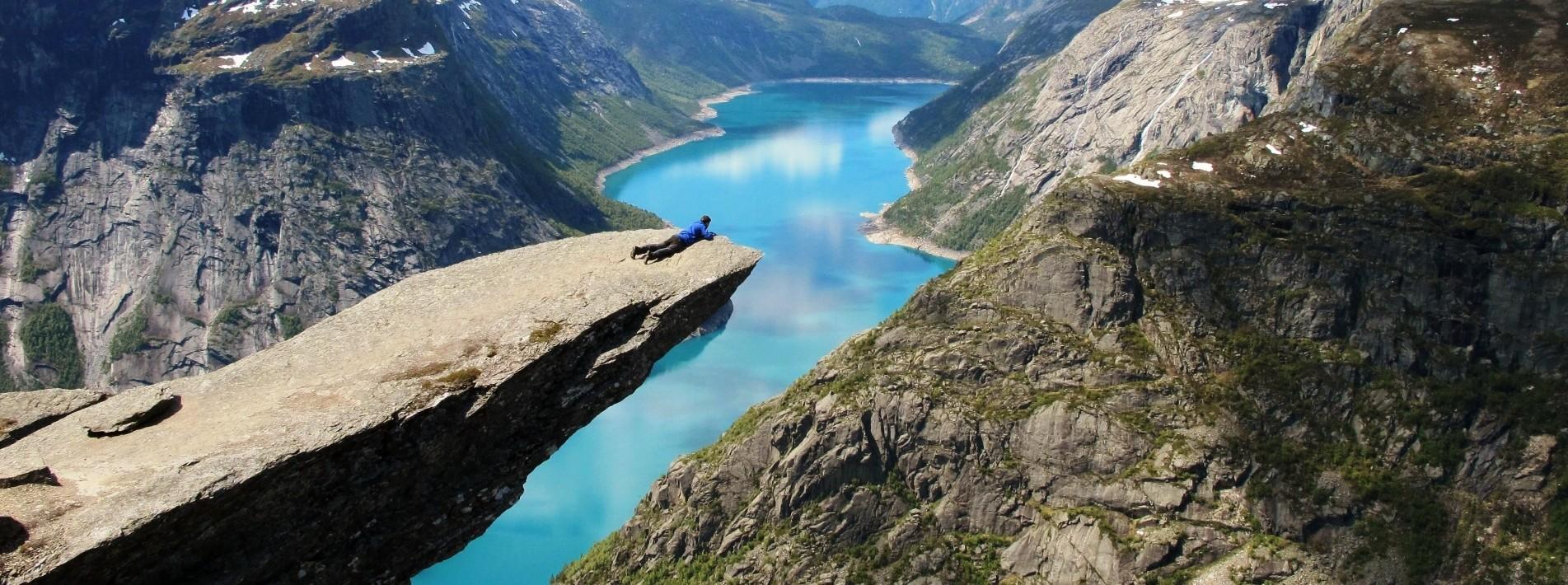 Trolltunga in Norwegen