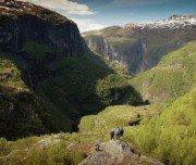 Wanderung im Aurland-Tal