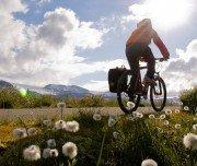 Fahrrad fahren auf dem Rallarvengen