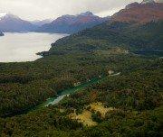 Bergseen in Patagonien