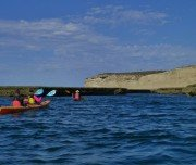 Kajak fahren um die Halbinsel Valdez