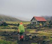 Hütte für Übernachtung