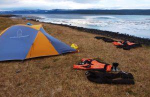 Trockenanzug auf Island