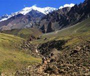 Wunderschöne Bergwelt in Argentinien