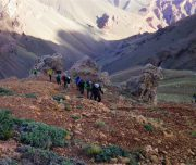 Trekking durch traumhafte Landschaft