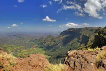 Aussicht vom Simiengebirge
