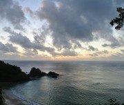 Sonnenuntergang bei Baía Golfinhos auf Fernando de Noronha