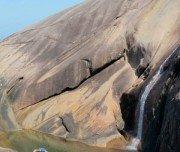 Saco Bravo Wasserfall