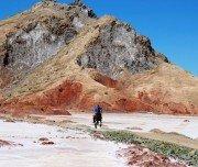 Durch das Salz-Tal reiten, Marokko