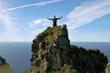 Wandern im Hornstrandir Naturreservat, Island