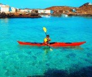 Kajak fahren zur Isla de Lobos