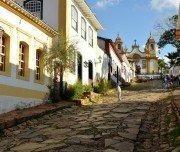 Pittoreske Straßen in Minas Gerais