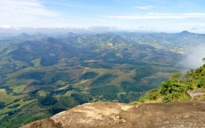 Aussicht vom Pico do Papagaio