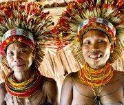 Mentawai-Stamm, Indonesien