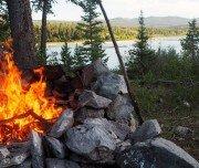 Gemütliche Lagerfeuer