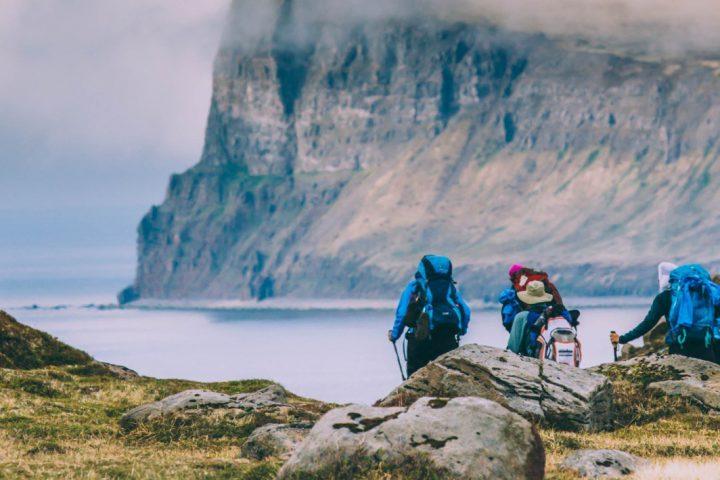Wandern in den Westfjorden