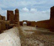 Altes Fort bei Wanderritt in Marokko
