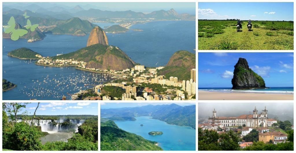 Wann wohin in Brasilien
