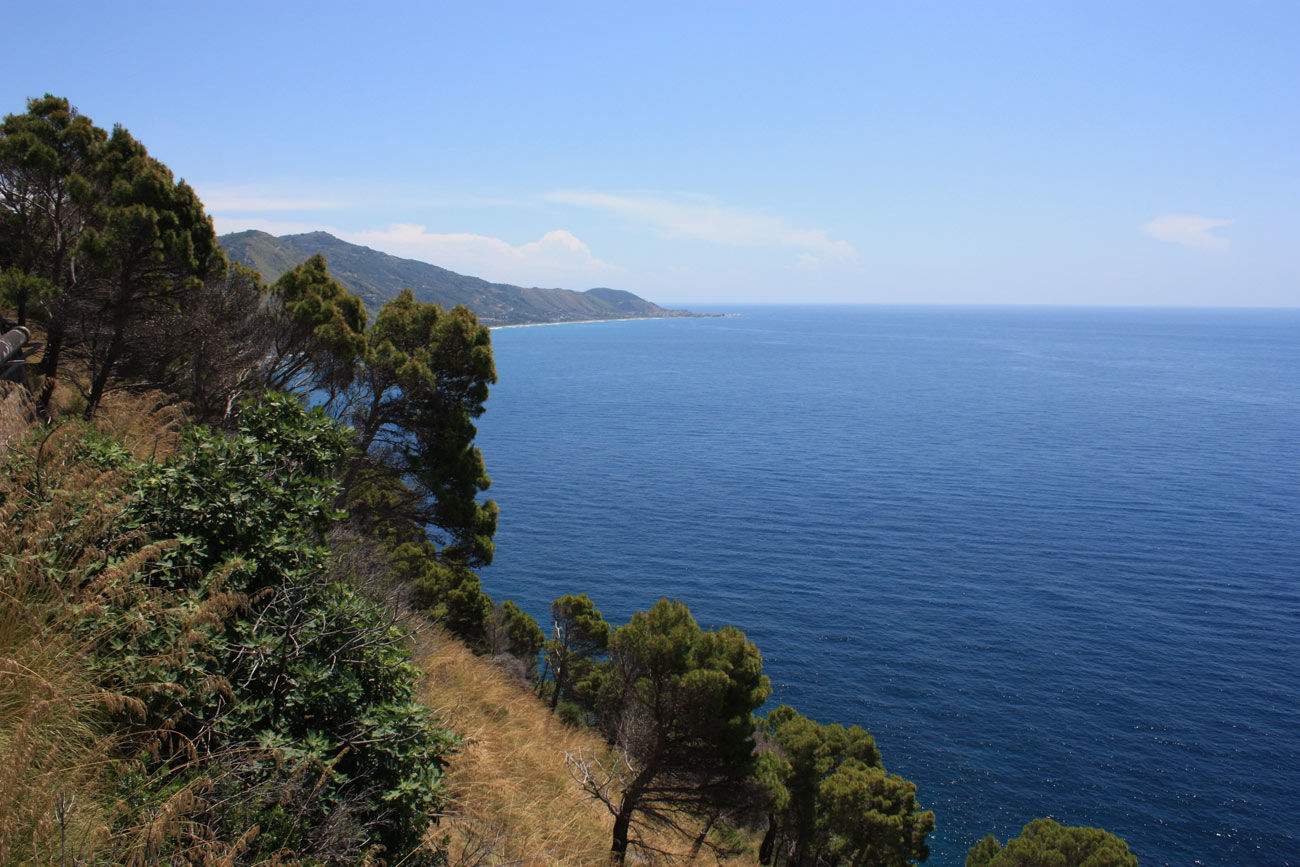 Küste des Cilento Nationalparks in Italien