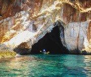 Höhlen an der Cilentoküste