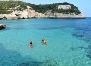 Paradiesische Buchten an der Südküste Menorcas