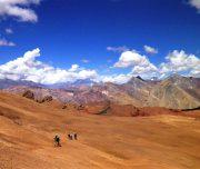 Beeindruckendes Panorama in den Anden