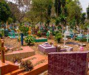 Besonderer Friedhof auf Yucatán