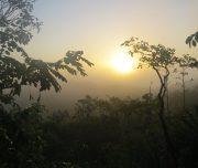 Sonnenaufgang über Oxpemul