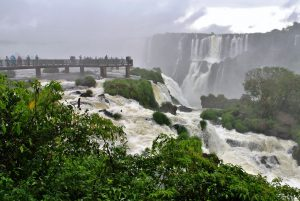 Aussichtsplattform Foz do Iguacu