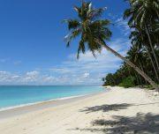 """Einsame Strände auf der """"Secret Island"""""""