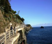Wandern entlang der Ligurischen Küste