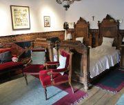 Schlafzimmer im Private Retreat von Prinz Charles