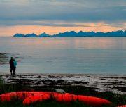 Sonnenuntergang im Tysfjord