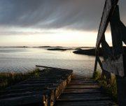 Abenddämmerung über den Inseln Helgelands